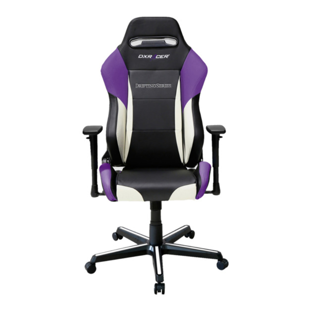 DXRacer Drifting Series DM61 Gaming Chair (Black and Purple) for