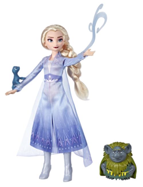 Frozen II: Elsa & Pabbie Salamander - Storytelling Doll