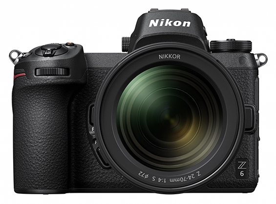 Nikon Z6 Mirrorless Camera with 24-70mm Lens and FTZ Adapter Kit