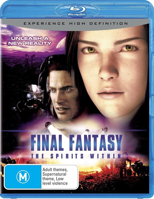Final Fantasy - Spirits Within on Blu-ray
