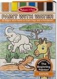 Melissa & Doug: Safari Paint With Water Kids' Art Pad