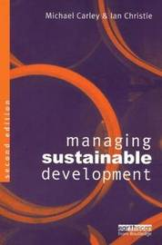 Managing Sustainable Development by Michael Carley image