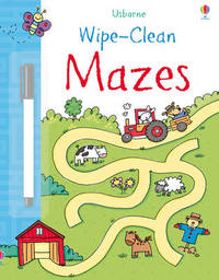 Wipe-clean Mazes by Jessica Greenwell