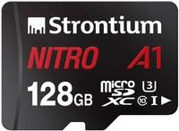 Strontium Nitro A1 Micro SD Card with Adaptor - 128GB image