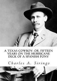 A Texas Cowboy by Charles A Siringo image