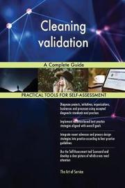Cleaning Validation a Complete Guide by Gerardus Blokdyk image