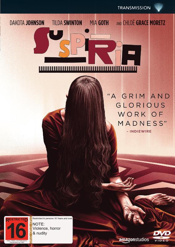 Suspiria (2018) on DVD