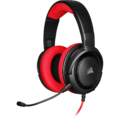 Corsair HS35 Stereo Gaming Headset (Red) for PC