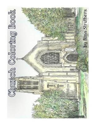 Church Coloring Book by Nina Struthers image