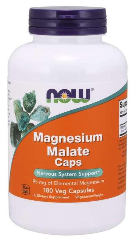 Now: Magnesium Malate Caps Veg Capsules