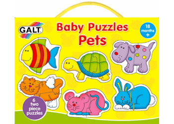 Baby Puzzles: Pets - by Galt image