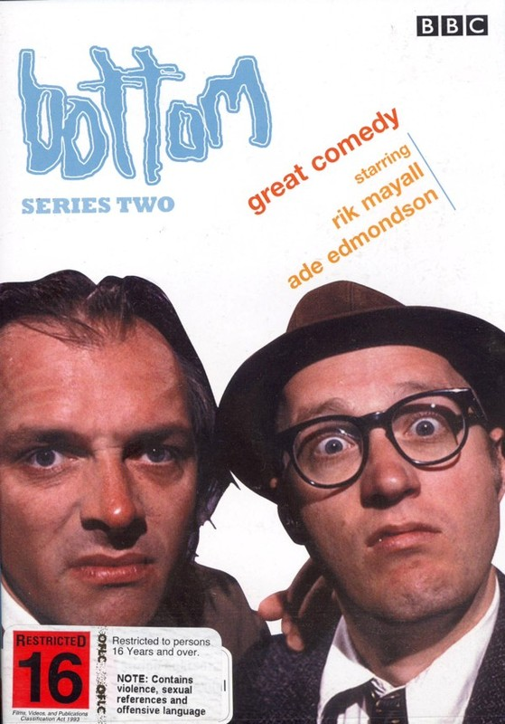 Bottom - Series 2 on DVD