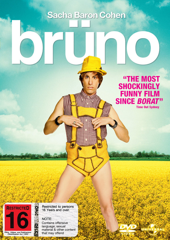 Bruno (Single Disc) on DVD