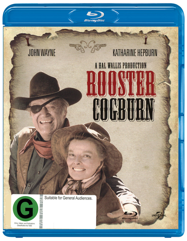 Rooster Cogburn on Blu-ray