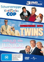 Kindergarten Cop / Twins / Junior - 3 DVD Movie Pack (3 Disc Set) on DVD