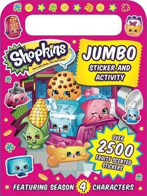 Shopkins: Jumbo Sticker and Activity by Buzzpop image