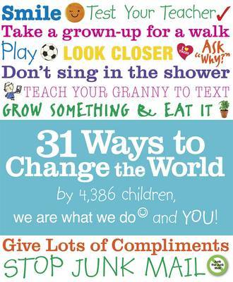 31 Ways to Change the World by We Are What We Do image