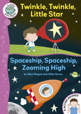 Twinkle, Twinkle, Little Star / Spaceship, Spaceship, Zooming High by Wes Magee image