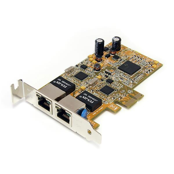 Digitus Gigabit Dual Ethernet PCI Express network card L/P image