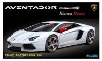 Fujimi: 1/24 Lamborghini Aventador (Bianco Rosso) - Model Kit