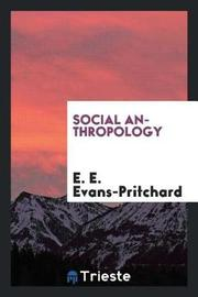 Social Anthropology by E.E. Evans-Pritchard image
