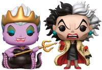 Disney: Ursula with Cruella de Vil Pop! Vinyl 2-Pack