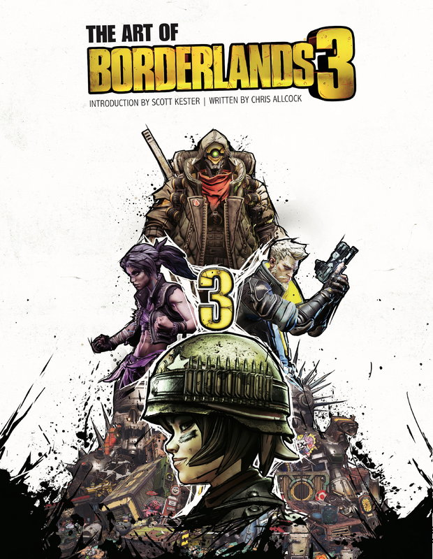 The Art of Borderlands 3 by Chris Allcock