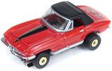 Auto World ThunderJets Ultra-G R9 '67 Corvette Roadster Slot Car - Red
