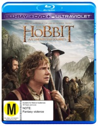 The Hobbit: An Unexpected Journey on DVD, Blu-ray, UV