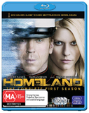 Homeland - The Complete First Season on Blu-ray