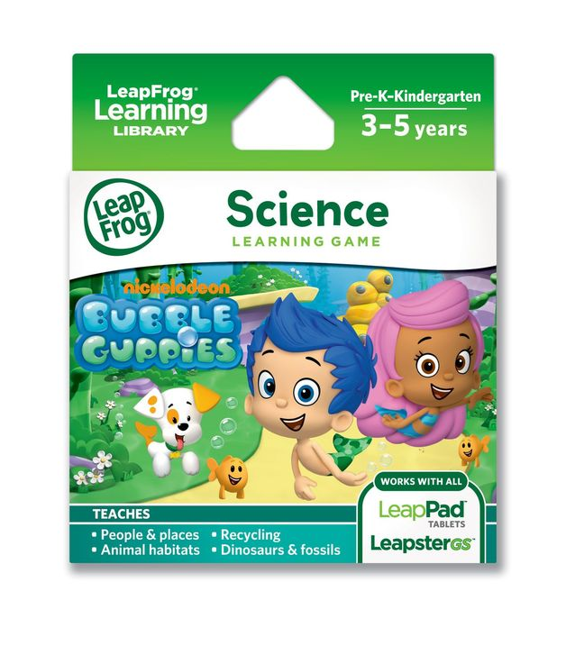 LeapPad Explorer Game - Bubble Guppies