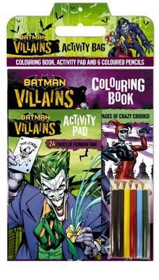 Batman Villains: Activity Bag (DC Comics)