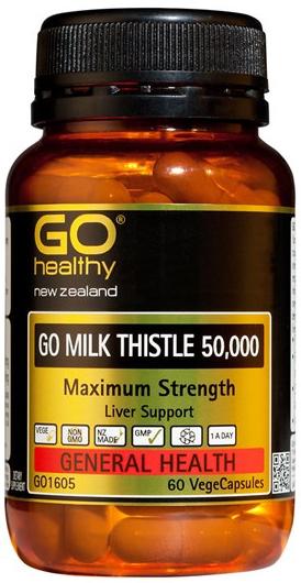 Go Healthy: GO Milk Thistle 50000 (60 Capsules)