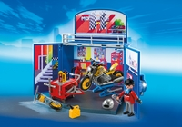 Playmobil: My Secret Play Box Motorcycle Workshop