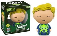 Fallout - Vault Boy (Adamantium Skeleton Glow) Dorbz Vinyl Figure