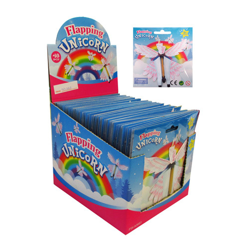 Unicorn Flapping Flying - 14.5cm