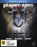 Planet Of The Apes - Trilogy Collection on Blu-ray