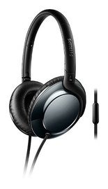 Philips: Over ear Flite Headphones - Black