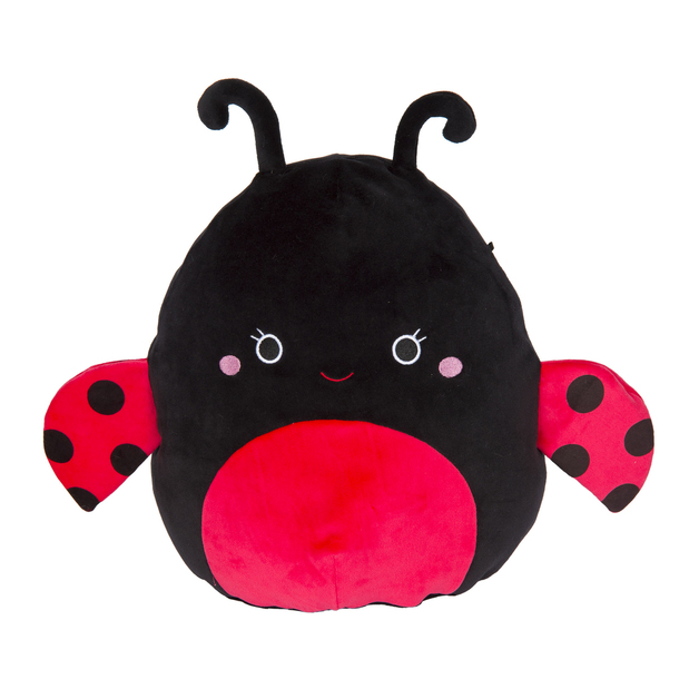 "Squishmallows 12"" Plush - Trudy the Ladybug"