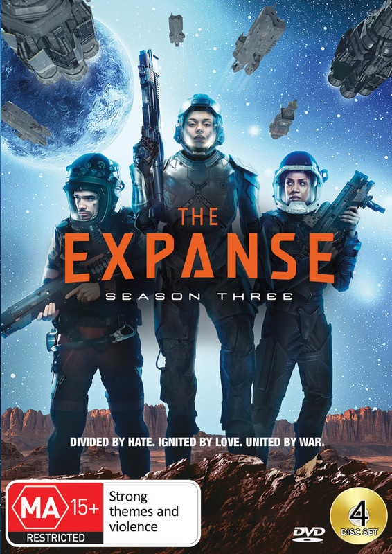 The Expanse - Season 3 on DVD