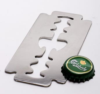 Razor Bottle Opener - by Artori