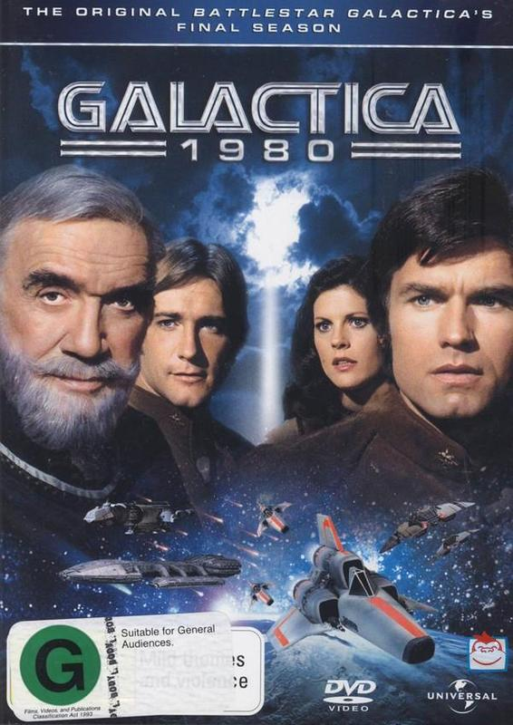 Galactica 1980 (2 Disc Set) on DVD