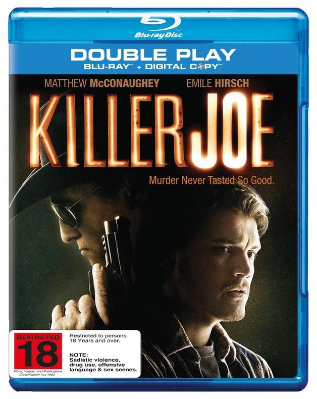 Killer Joe on Blu-ray, DC