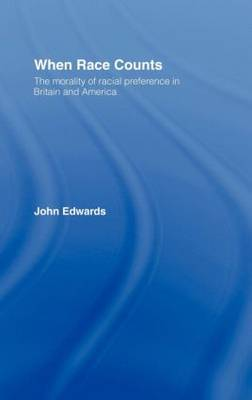 When Race Counts by John Edwards image