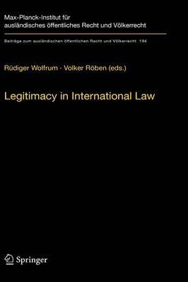 Legitimacy in International Law image