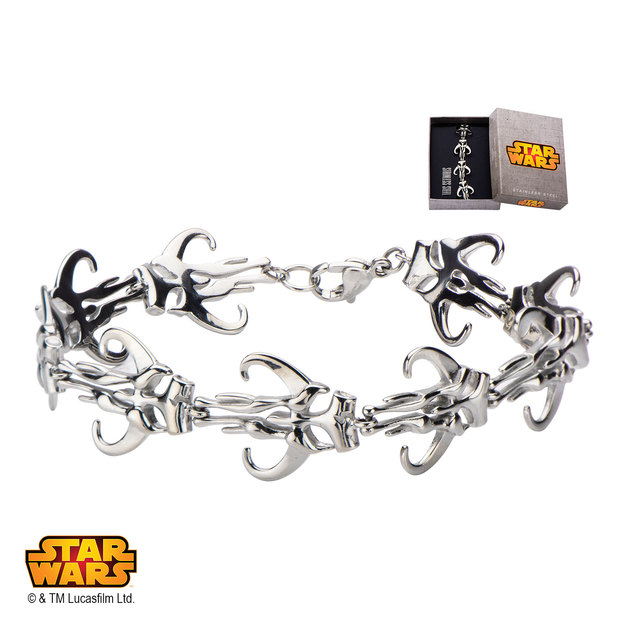 Star Wars Mandalorian Symbol Bracelet
