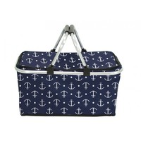 Annabel Trends Picnic Basket - Anchors