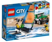LEGO City: 4x4 with Catamaran (60149)
