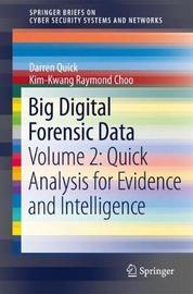Big Digital Forensic Data by Darren Quick