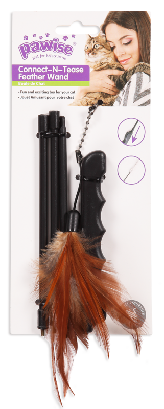 Pawise: Connect-N-Tease Feather Wand